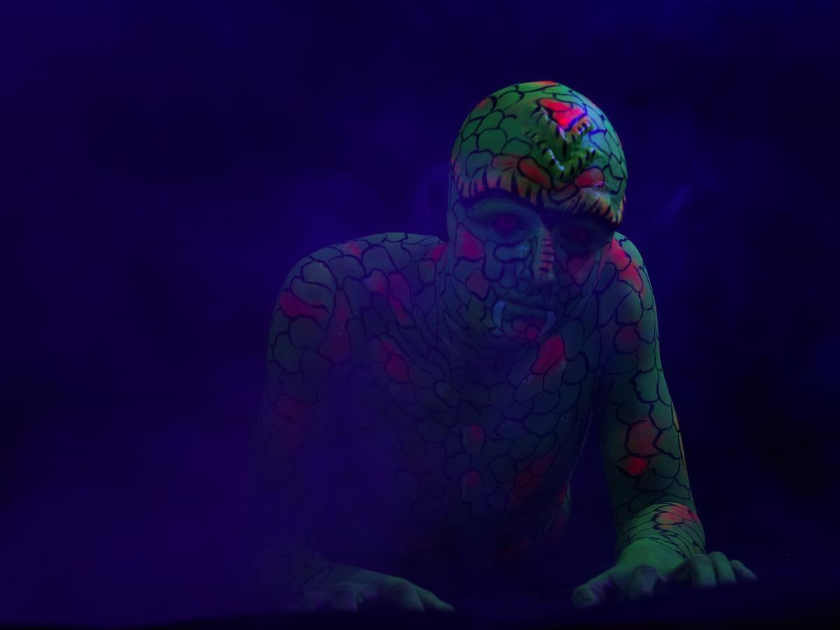 Marc Von Hacht Photography UV Licht Shooting 16