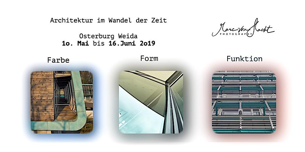Ausstellung Architektur Osterburg Weida