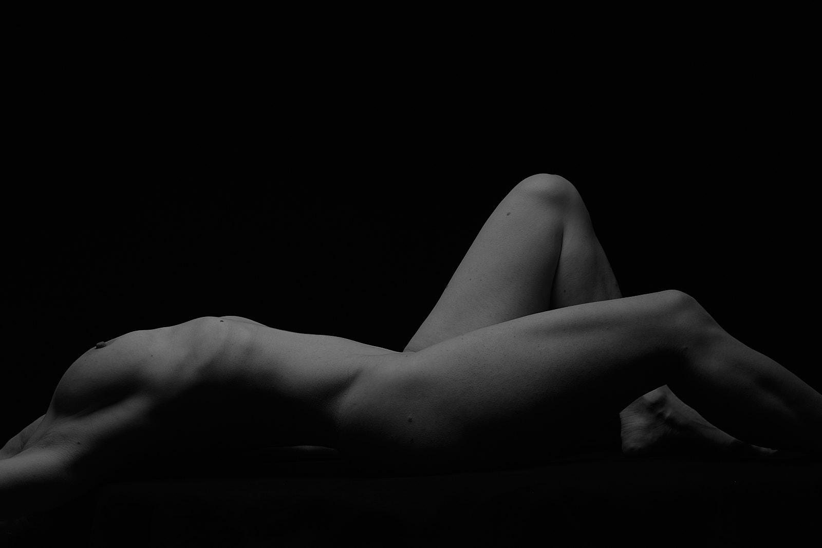 Akt liegend / Marc von Hacht - Photography