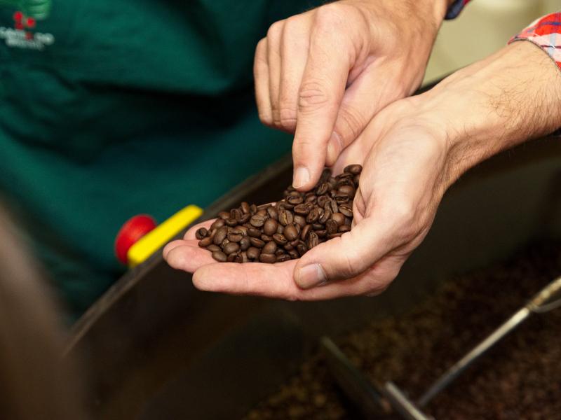 Kaffeverkostung Classic Caffee - Sichtkontrolle