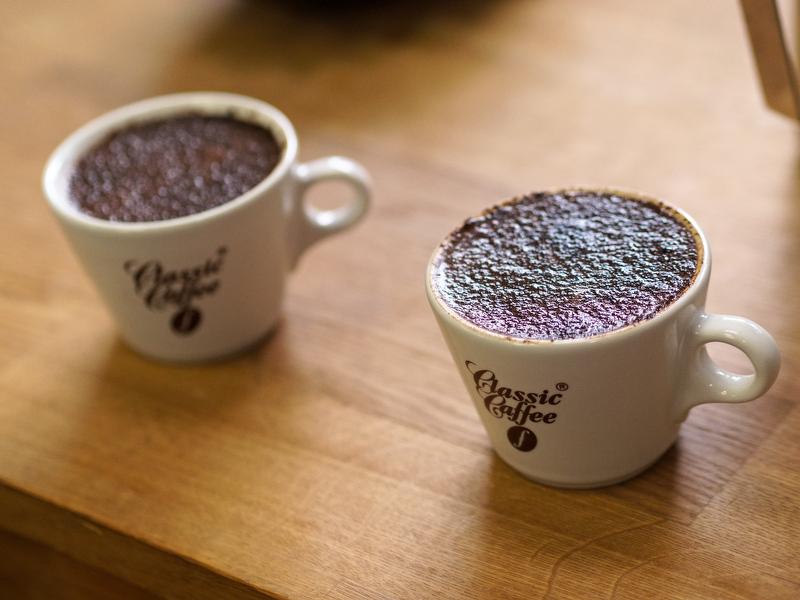 Kaffeverkostung Classic Caffee