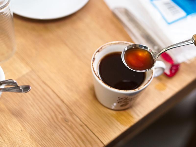 Kaffeverkostung Classic Caffee - frischer Kaffee